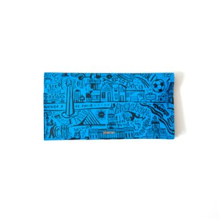 Wallet L -Blue Buenos Aires-