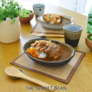 【CASA & CASA】美濃焼 塗分け 緑点 お皿&カップセット