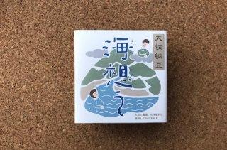 無農薬大豆 熊本県産フクユタカ使用 海想う 50g×2パック