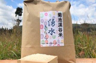 令和2年度産 自然栽培米 湧水きらら 白米 5kg