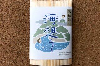 無農薬大豆 熊本県産フクユタカ使用 海想う 100g