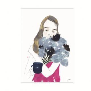 花を束ねる