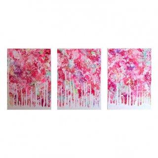raved flowers(3枚組)