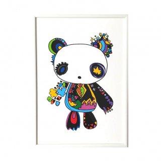 パンダのぬいぐるみ  (A3/A2)