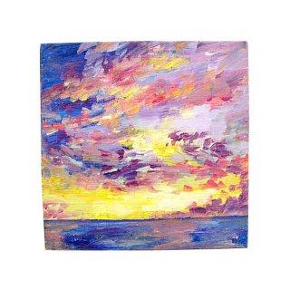 空と海の絵