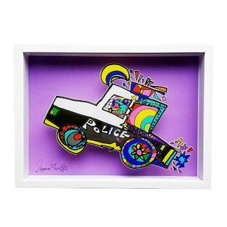 虹色パトカー(アートボックス)