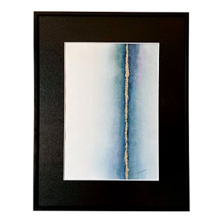 DEEP WATER - MIDNIGHT BLUE (VERTICAL)