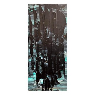 ABSTRACT EXPRESSIONISM BLACK(L)
