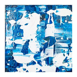 ABSTRACT EXPRESSIONISM BLUE(M)
