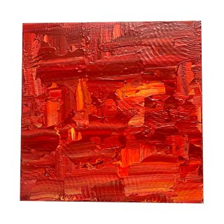 ABSTRACT EXPRESSIONISM RED(M)