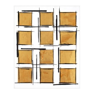 ABSTRACT EXPRESSIONISM SQUARE(M)