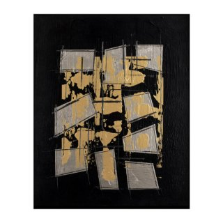 ABSTRACT EXPRESSIONISM GOLD(M)