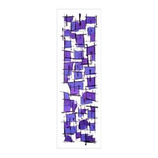 ABSTRACT EXPRESSIONISM VIOLET(XL)