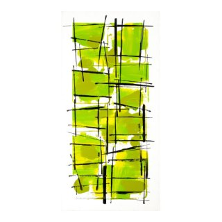 ABSTRACT EXPRESSIONISM LIGHT GREEN(M)