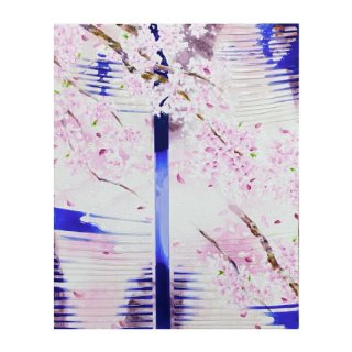 Flat - cherry blossoms