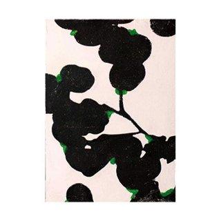 Pressed plants black#1 (S)