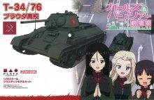 GP-28 1/35 T-34/76 プラウダ高校 ガールズ&パンツァー劇場版