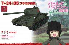 GP-30 1/35 T-34/85 プラウダ高校 ガールズ&パンツァー劇場版