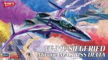 """【限定】1/72 VF-31C ジークフリード ミラージュ機 """"マクロスΔ"""""""