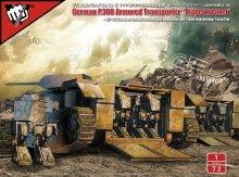 1/72 ドイツ軍特殊輸送型戦車+2足歩行兵器 P.300 �トリーガーコイツァー� FIST OF WAR