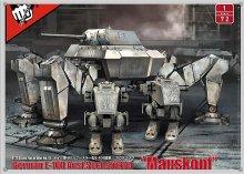 1/72 ドイツ軍 E-100 ゼクスフースラー型 �マウスコプフ�+ 二脚歩行兵器 FIST OF WAR