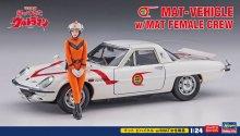 【限定】ハセガワ 1/24 マット ビハイクル w/MAT女性隊員