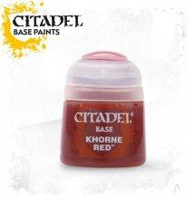 コーン・レッド Khorne Red Paint-Base CITADEL COLOR