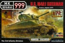 1/72 アメリカ軍 シャーマンM4A1