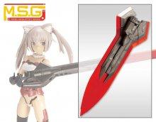メガスラッシュエッジ Special Edition【CRYSTAL RED】 ヘヴィウェポンユニット05EX
