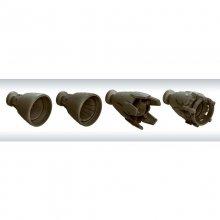 040 1/100 MSバーニア 01 メカニックカラー ビルダーズパーツHD