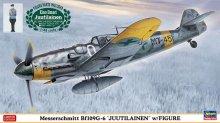 """【限定】1/48 メッサーシュミット Bf109G-6 """"ユーティライネン"""" w/フィギュア"""