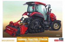 【限定】1/35 ヤンマー トラクター YT5113A デルタクローラ/ロータリー仕様
