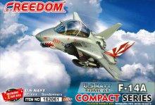 F-14A トムキャット 米海軍 VF-111 サンダウナーズ 2 in 1 (限定版) コンパクトシリーズ