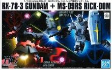 HGUC 1/144 G-3ガンダム VS シャア専用リックドム