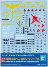 No.23 1/100 MG 機動戦士ガンダム 逆襲のシャアシリーズ用 ガンダムデカール