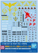 <img class='new_mark_img1' src='https://img.shop-pro.jp/img/new/icons33.gif' style='border:none;display:inline;margin:0px;padding:0px;width:auto;' />No.23 1/100 MG 機動戦士ガンダム 逆襲のシャアシリーズ用 ガンダムデカール
