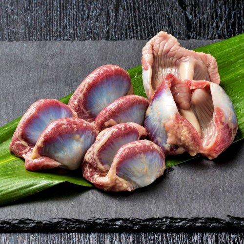 【三つ丸印】黒さつま鶏砂ズリ(砂肝)の商品画像