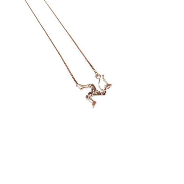 WHIMSY / 10K POZESSION GOLD KNECKLACE