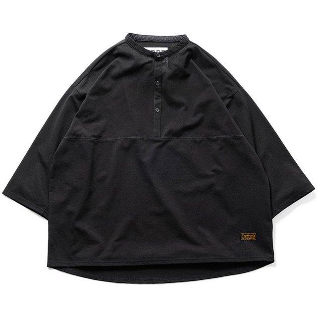 TIGHTBOOTH / KANOKO BAND COLLAR T-SHIRT BLACK