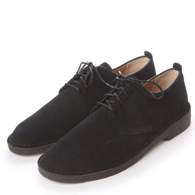 CLARKS / DESERT LONDON BLACK SUEDE