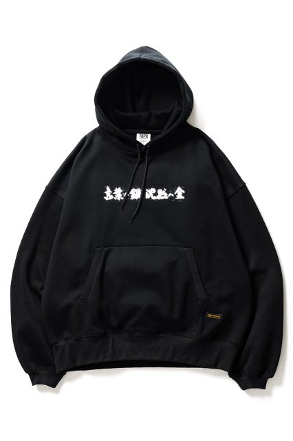 TIGHTBOOTH x THE BLUE HERB / SILVER & GOLD HOODIE BLACK