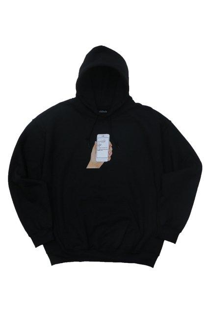 FAST MINDS / BEST WALLPAPER HOODIE BLACK