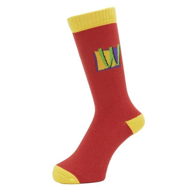 WHIMSY / POISON SOCKS RED