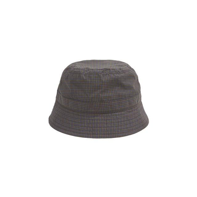 WHIMSY / PLAID CORDURA NYLON HAT NAVY