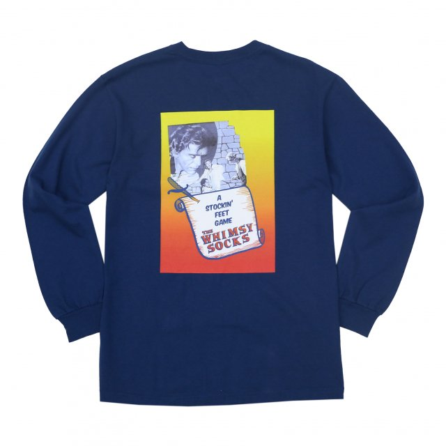 WHIMSY / FIENDISH L/S TEE HARBOUR BLUE