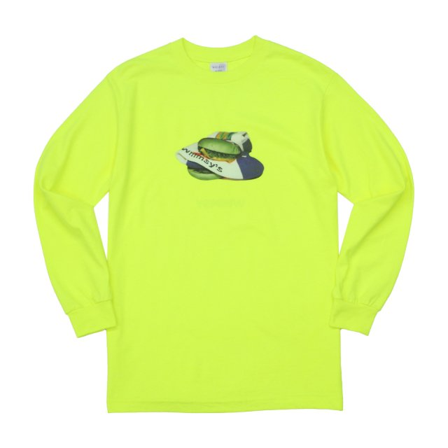 WHIMSY / POISON L/S TEE SAFETY GREEN