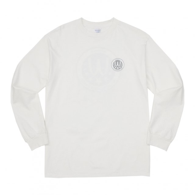 WHIMSY / POISONOUS GAME L/S TEE WHITE