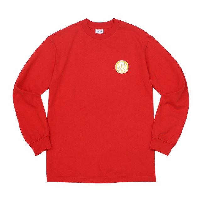 WHIMSY / POISONOUS GAME L/S TEE RED