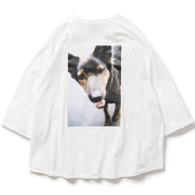 TIGHTBOOTH / DOG 7 SLEEVE T-SHIRTS WHITE