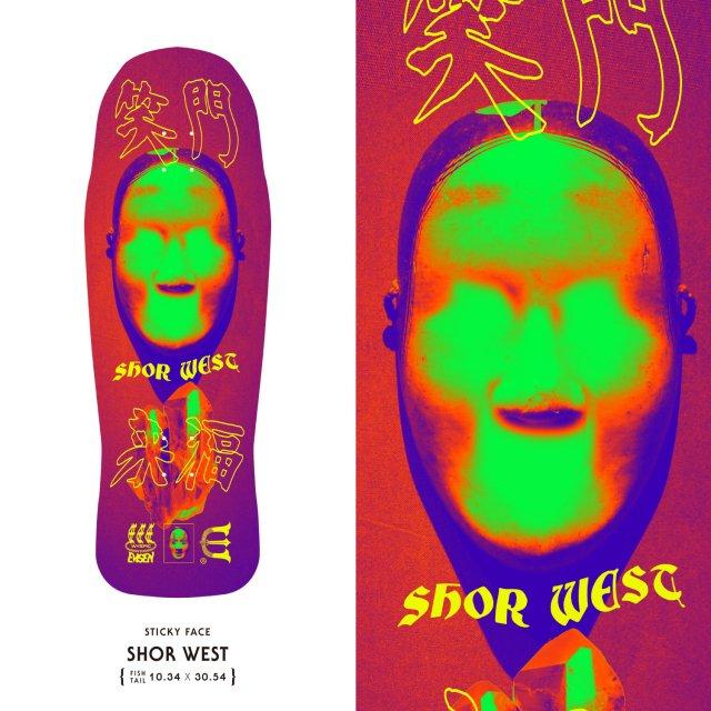 EVISEN / SHOR WEST STICKY FACE